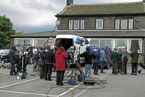 Filming Last of the Summer Wine